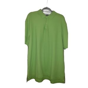 Tommy Hilfiger Classic Collar Polo Shirt Green XL